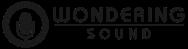 wondering sound logo